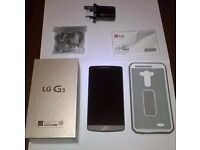 LG G3 (Perfect Condition) UNLOCKED to any Network.