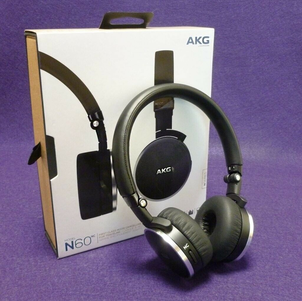 a2925ad85e5 *BRAND NEW* AKG N60 nc wireless noise cancelling headphones ...