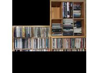 Job Lot of approx. 200 CDs and DVDs