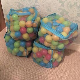 Ball pit balls 4 bags