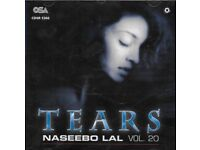 NASEEBO LAL - TEARS - CD VOL 20 - FREE UK POST