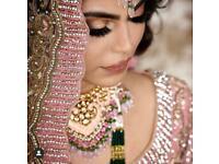 Asian bridal hair and makeup artist