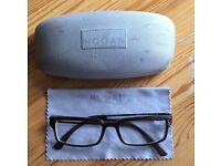Hogan brown glasses frame