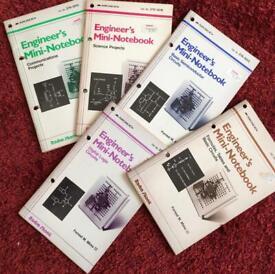 Retro radio shack engineers mini notebooks
