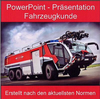Feuerwehr Powerpoint Ausbildung Fahrzeugkunde Feuerwehrfahrzeug -Pumpen - 2016