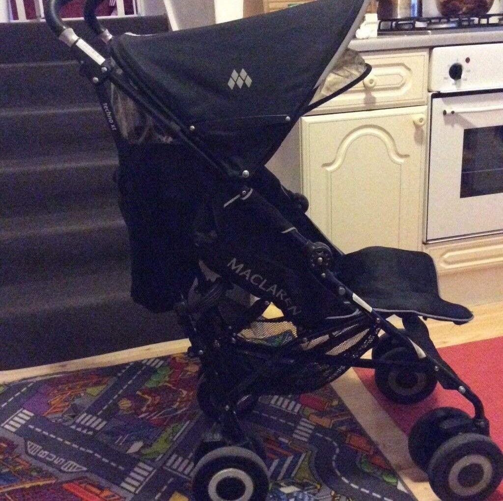 Maclaren techno xt buggy/ pushchair