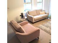 Harveys Maya Love Seat and 3 Seater Sofa / Suite