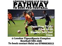London Tigers U18 Trails