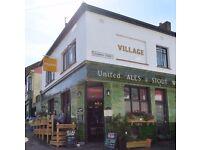 Bar staff wanted at Village