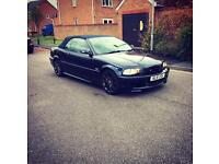 BMW 3 series 325 m sport 2002 automatic convertible