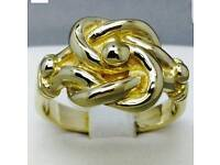 Gold plated ring high quality 1 left