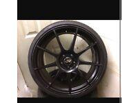 """20"""" GENUINE ROHANA RF1 LUXURY ALLOYS x4 TYRES (VW, Audi, Skoda, Bmw, Seat, OZ, RS, R, VXR, M etc.)"""