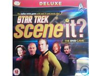Star Trek DVD Board Game - 'Scene It' -Deluxe Version With Real Tv And Movie Clips