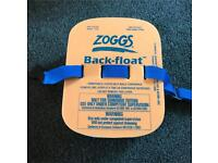 Zoggs back-float swimming
