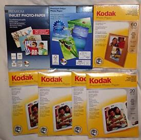 "Brand New Sealed BUNDLE of Premium Photo Paper 4"" x 6"" (10 x 15cm) SEE DETAILS"