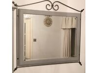 Ducal Pine Wall Mirror - Paris Grey