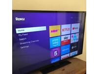 "49"" Full HD TV + Roku Express"