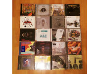20 ELECTRONIC - INDIE CD's ENIGMA - LEFTFIELD - SPIRITUALIZED - JAM & SPOON