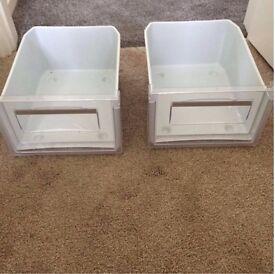 Hotpoint Refrigerator Drawer(s) x2