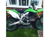 Kxf 450 motorbike