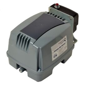Air pump compressor pond tank