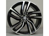 20 Jag Twist Style wheels and tyres suitable for a Jaguar XE & XF ETC