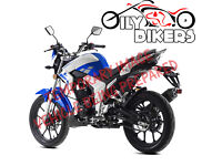 LEXMOTO VENOM 125CC LEARNER LEGAL - FINANCE AVAILABLE - 2 OXFORD CHAINS / 1 DISC LOCK - MP3 Player