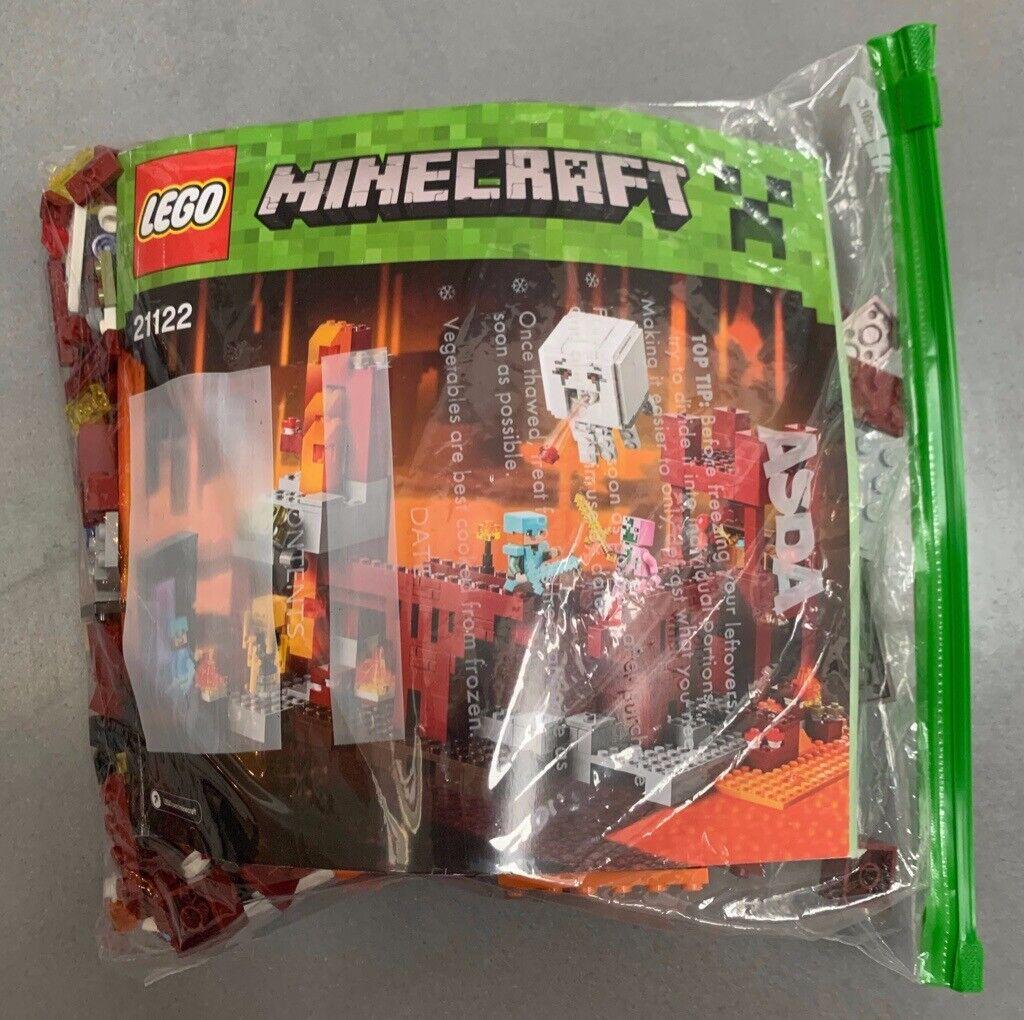 Lego Minecraft 21122 Nether Fortress | in Henleaze, Bristol | Gumtree