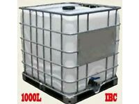 1000L Plastic liquid IBC cubes, tanks, containers, water tanks for sale