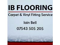 IB Fitting, Carpets & Vinyl. 07543505205