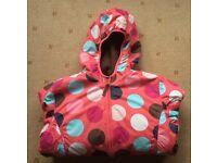 "Mini Boden - Girls' ""Dots & Spots"" coat, raincoat, anorak, from aged 9 years - Larne/Belfast, £6"