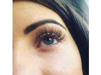 classic and volume Mink eyelash extensions