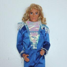 John Smith Doll Disney Pocahontas Barbie Ken size Doll