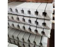 🌟 Produced On Site High Quality Concrete Fence Posts