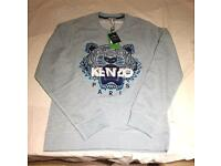 Kenzo sweatshirt light blue mens large brand new genuine RRP £165