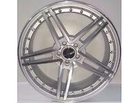 "Brand New 17"" inch Alloy Wheels 5x100, VW, GOLF, POLO, CADDY, MX5, LUPO, A1, Alfa Romeo, Fiat, Corsa"