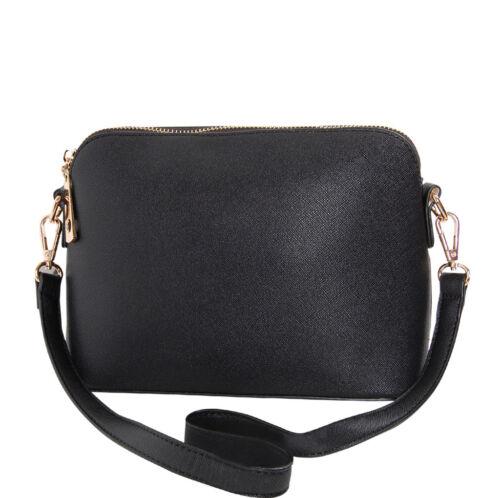 Humble Chic Women's Saffiano Convertible Handbag - Vegan Lea
