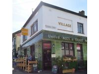 Cafe-bar staff wanted at Village in Hanover