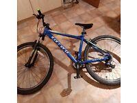 "Carrera Valour Mens Mountain Bike 18"" Frame"