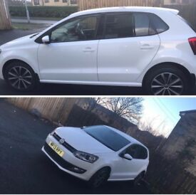 White vw polo match excellent condition good to run 1.2 litre brilliant little car