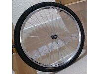 "26"" Inch Front Bike Wheel with Tube and Tyre"