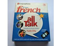 Linguaphone 16 CDs 16 hour French All Talk Course