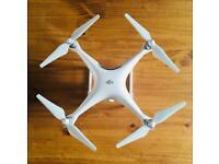 Cheap DJI Phantom 4 Drone with Remote Control 4K Camera & Two Batteries