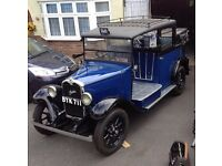1935 Austin Heavy 12/4 Taxi Low Loader - ideal wedding car or film work WW2 AFS