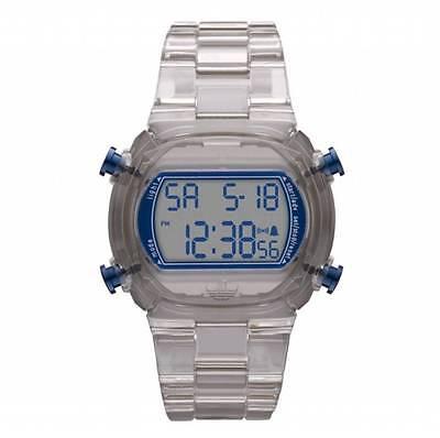 Candy Alarm Chronograph Watch - NEW-ADIDAS CANDY GREY PLASTIC STRAP+NAVY BLUE DIGITAL CHRONOGRAPH WATCH-ADH6509