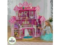 NEW SEALED - LARGE KidKraft Doll house + 21 Pieces of Furniture (3+ Years)
