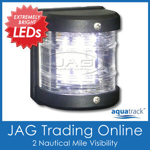 12V-9-LED-WHITE-MASTHEAD-LIGHT-Side-Mount-Navigation-Light-Boat-Yacht-Marine