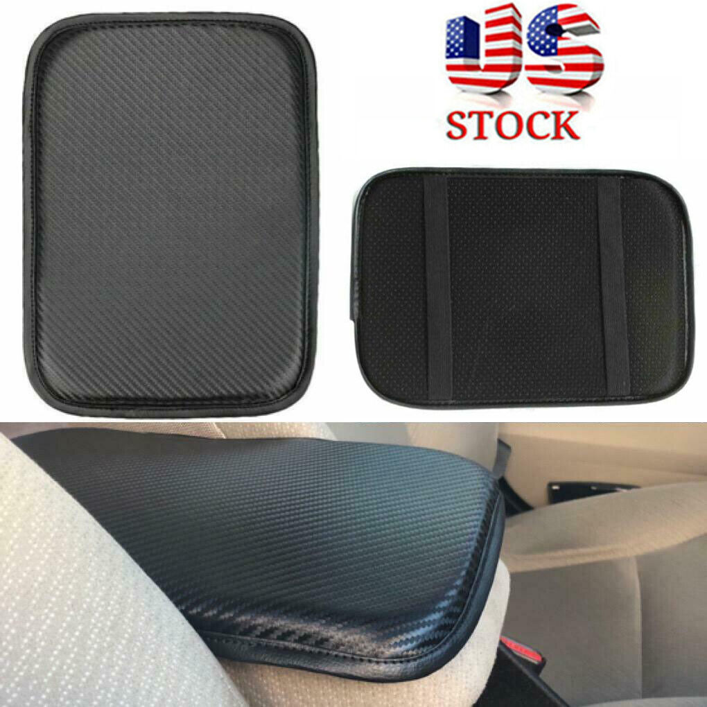 Universal Car Armrest Pad Cover PU Leather Auto Center Console Box Cushion Mat Car & Truck Parts