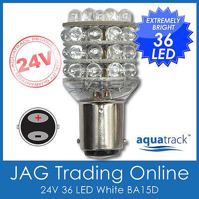 24V 36-LED BA15D 1142 GLOBE - Truck/Caravan/Boat/Navigation/Anchor Light Bulb - Led Anchor Light
