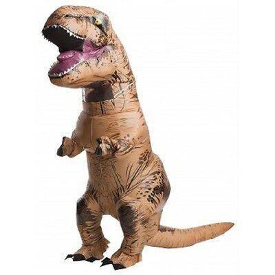 Child Size Kids T Rex Inflatable Costume   Jurassic World   8 10 Fnt